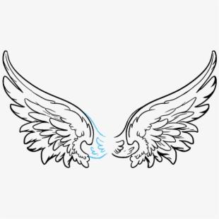 Dark Angel Clipart Simple Wing.