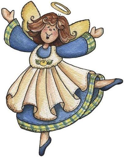 dancing angel.