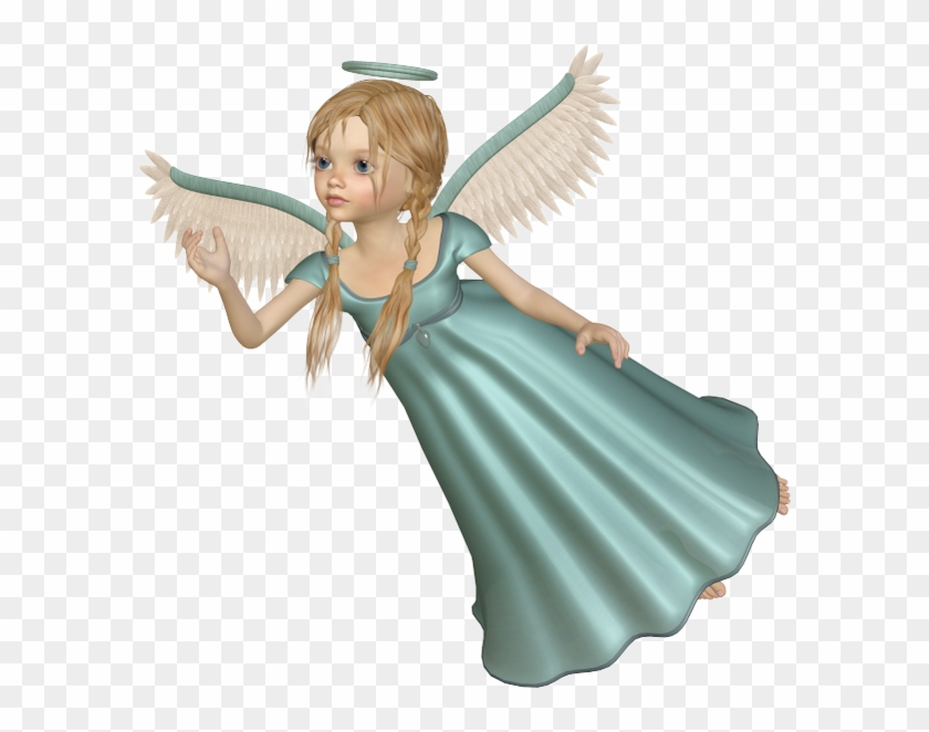 Flying Angel Free Png Clipart Picture.