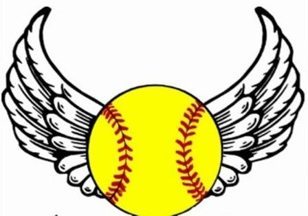 Coed Softball Clipart.