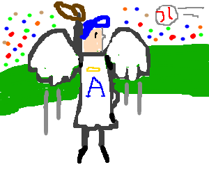 Angels in the outfield.