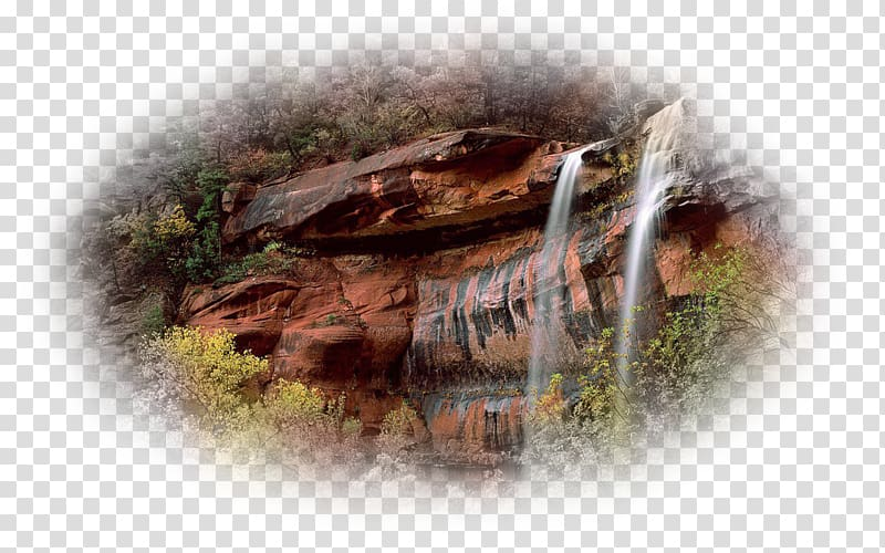 Emerald Pools Angels Landing Grand Canyon National Park The.