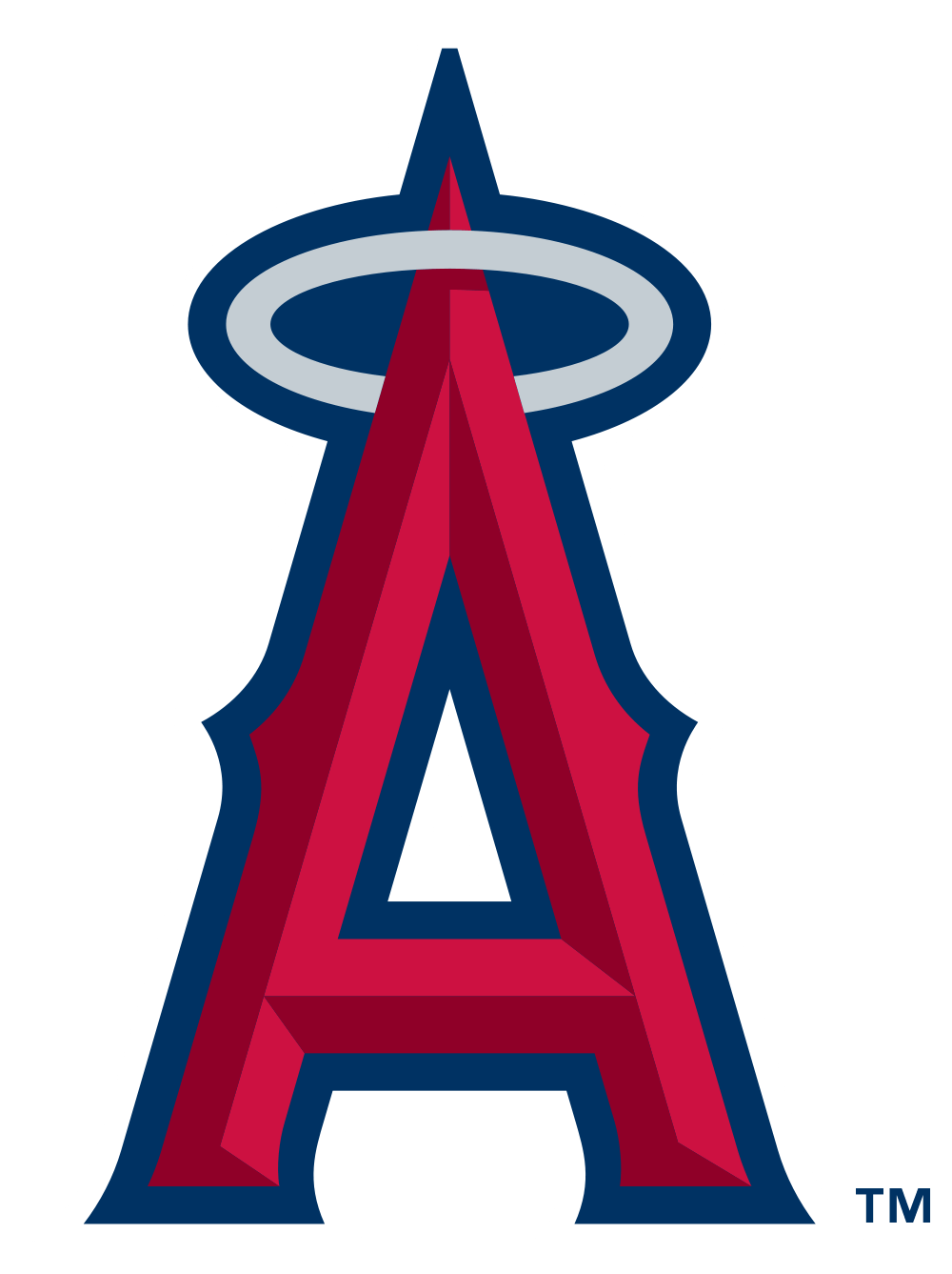 Los Angeles Angels Of Anaheim Logo transparent PNG.