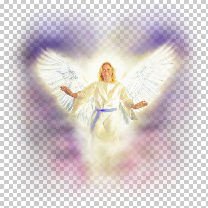 Angel God Heaven Fall of man Faith, soft PNG clipart.