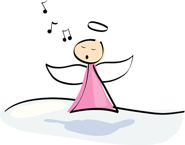 Best Angels Singing Illustrations, Royalty.