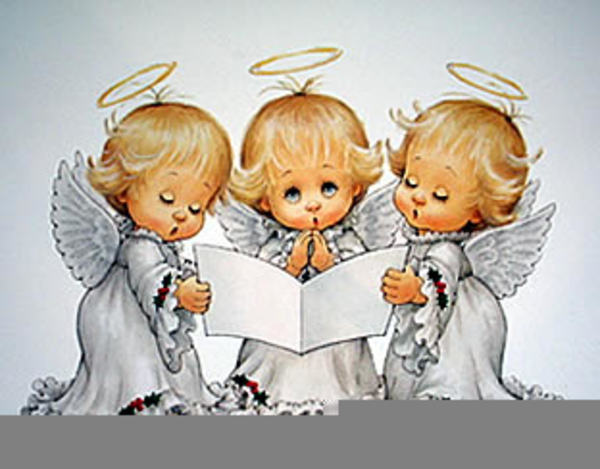 Free Clipart Angels Singing.