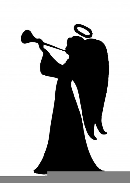 Trumpeting Angel Clipart.