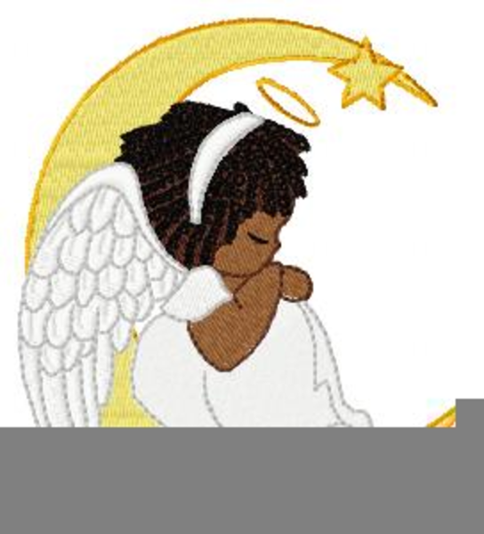 Angels clipart african american, Angels african american.