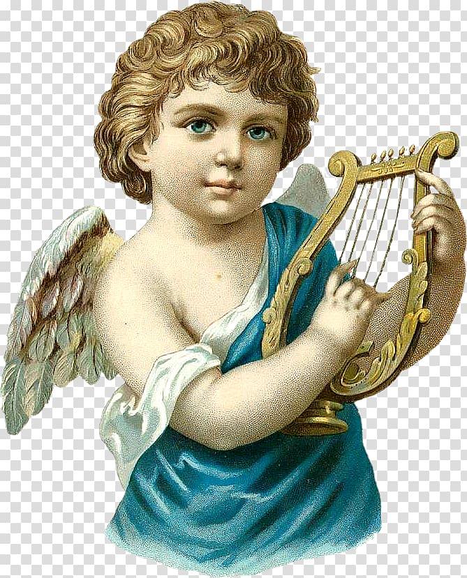 Angel illustration, Angel Cupid Fairy , angel transparent.
