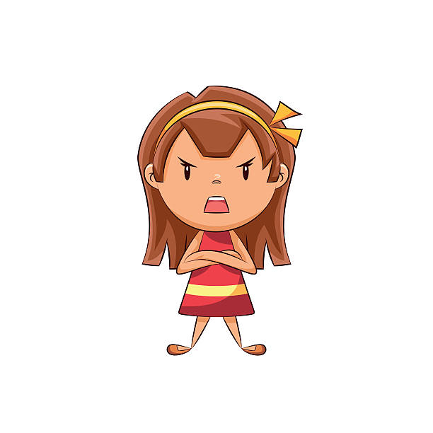 Best Angry Child Illustrations, Royalty.