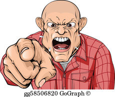 Angry Clip Art.
