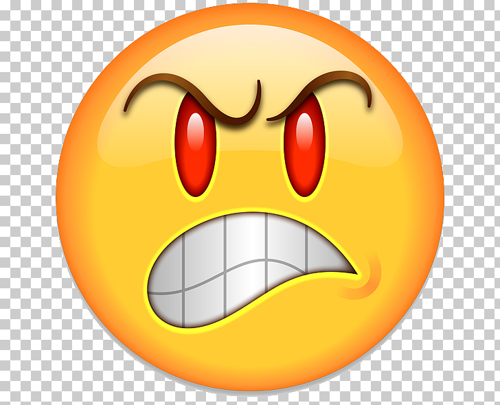 Emoji Anger Smiley Emoticon , Angry Emoji Transparent, emoji.