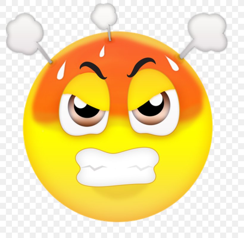 Emoji Anger Emoticon Clip Art, PNG, 780x798px, Emoji, Anger.