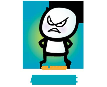 Anger Management Clipart.