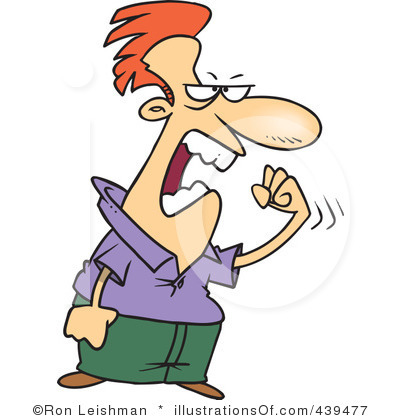 Angry person clipart 1 » Clipart Station.