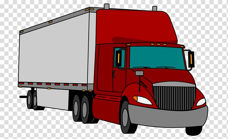 Trailers transparent background PNG cliparts free download.