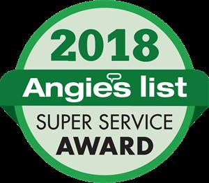 Angies list award 2018 Logo Vector (.EPS) Free Download.