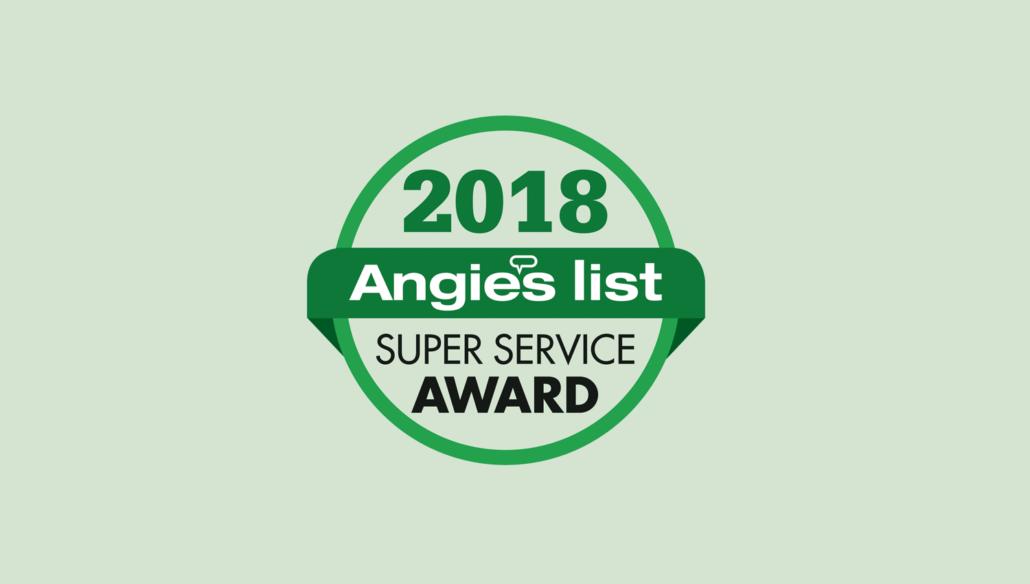 Flowers Flooring Earns 2018 Angie's List Super Service Award.