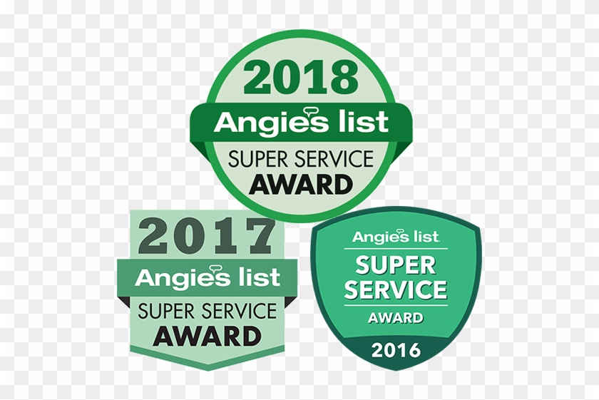 The Prestigious Angie's List Super Service Award Is.