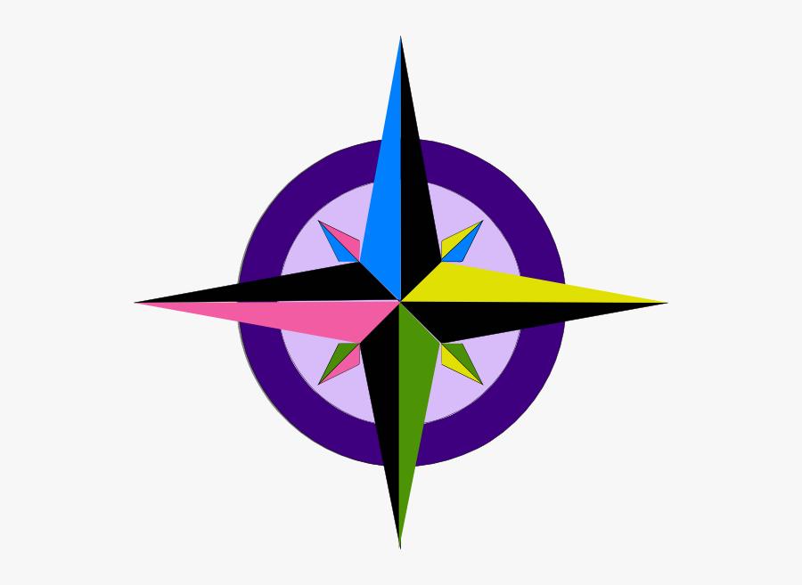 Kompas Arah Mata Angin , Free Transparent Clipart.