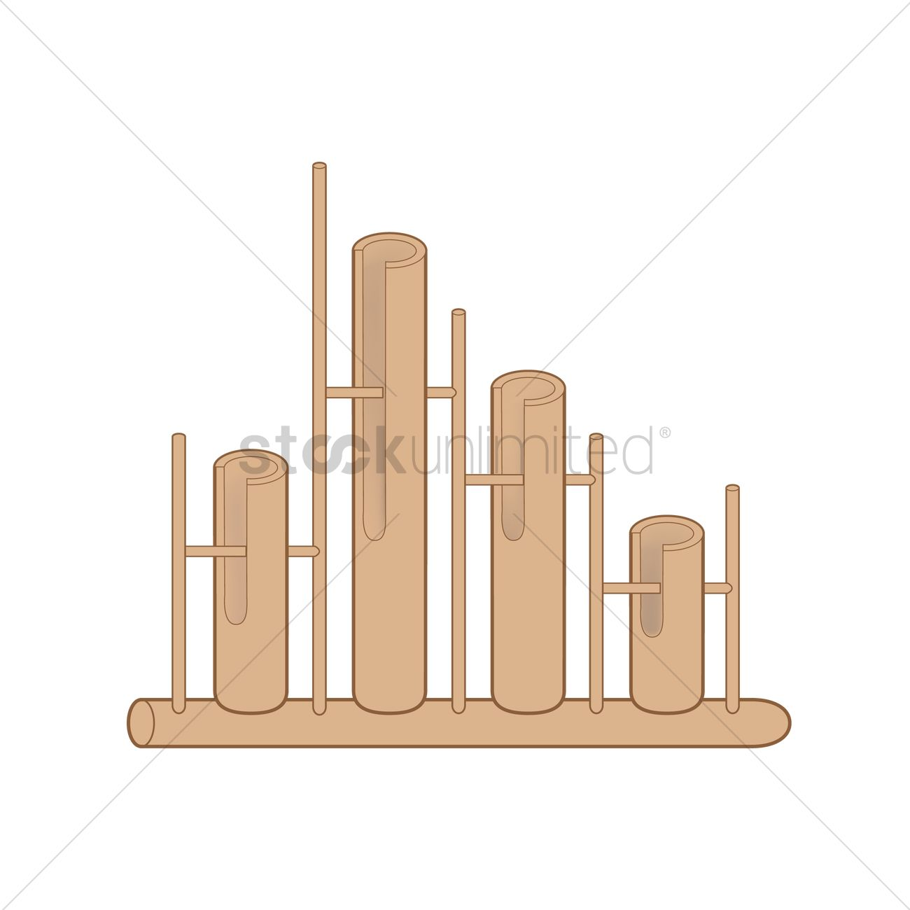 Angklung clipart #8