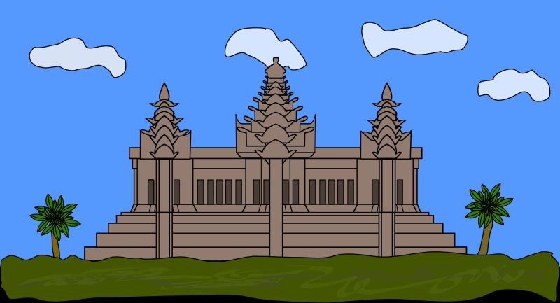 Free Angkor Wat Clip Art.