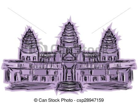 Angkor Vector Clipart EPS Images. 57 Angkor clip art vector.