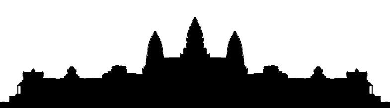 Angkor wat clipart.