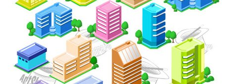 45 Degree Angle Buildings Clipart Picture Free Download.