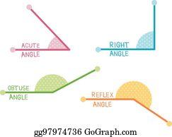 Acute Angles Clip Art.