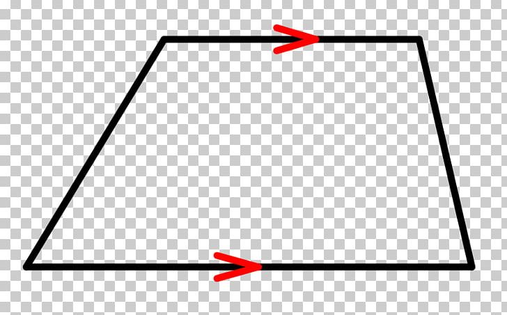 Isosceles Trapezoid Definition Triangle Geometry PNG.