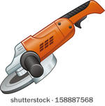 Gallery For > Angle Grinder Clipart.