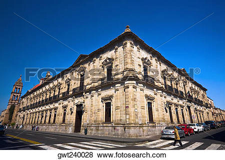 Pictures of Low angle view of a building, Palacio Federal, Morelia.