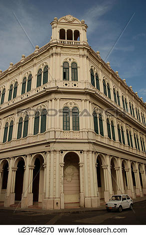 Stock Photography of Low angle view of a government building.