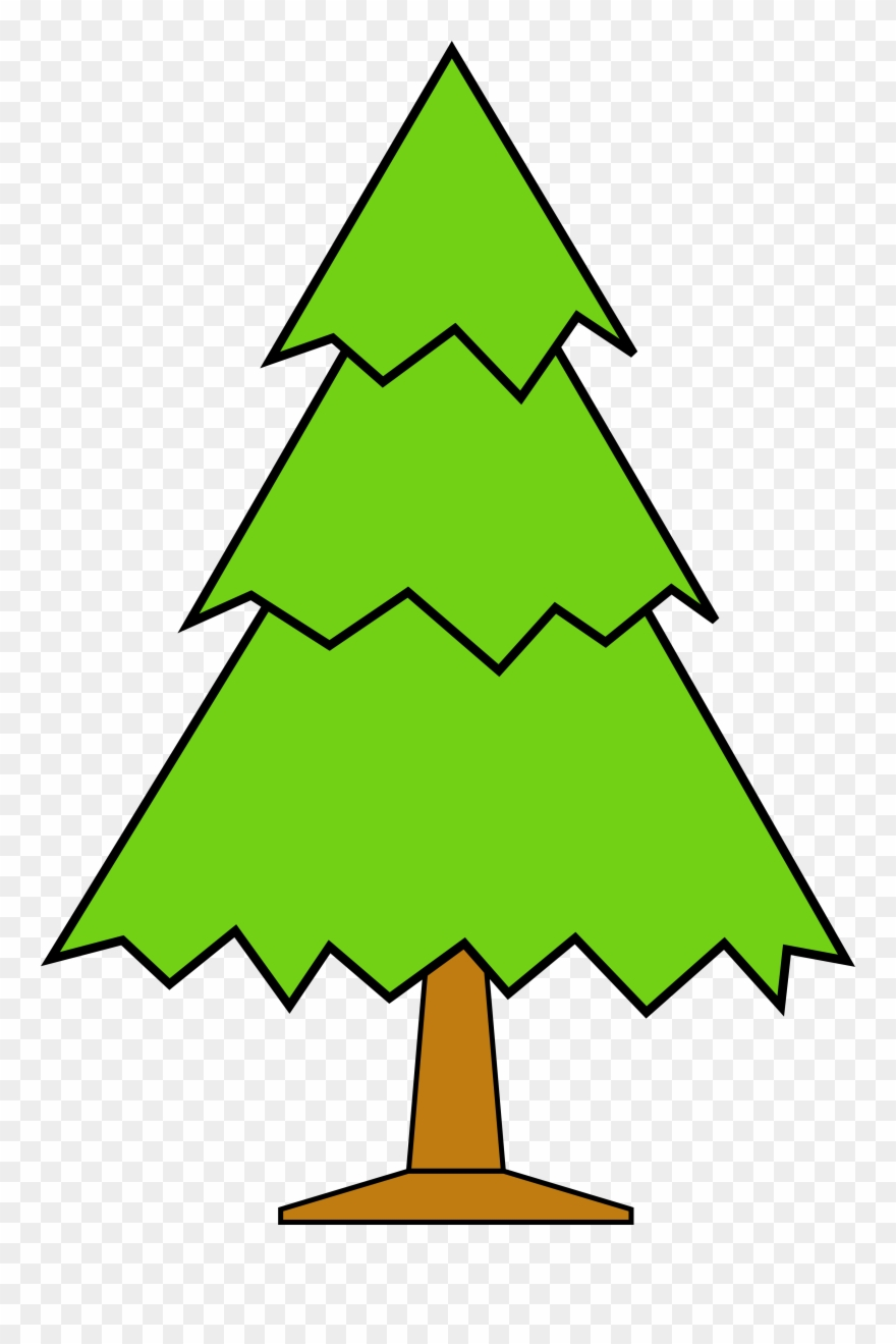 Clipart Christmas Tree Outline.