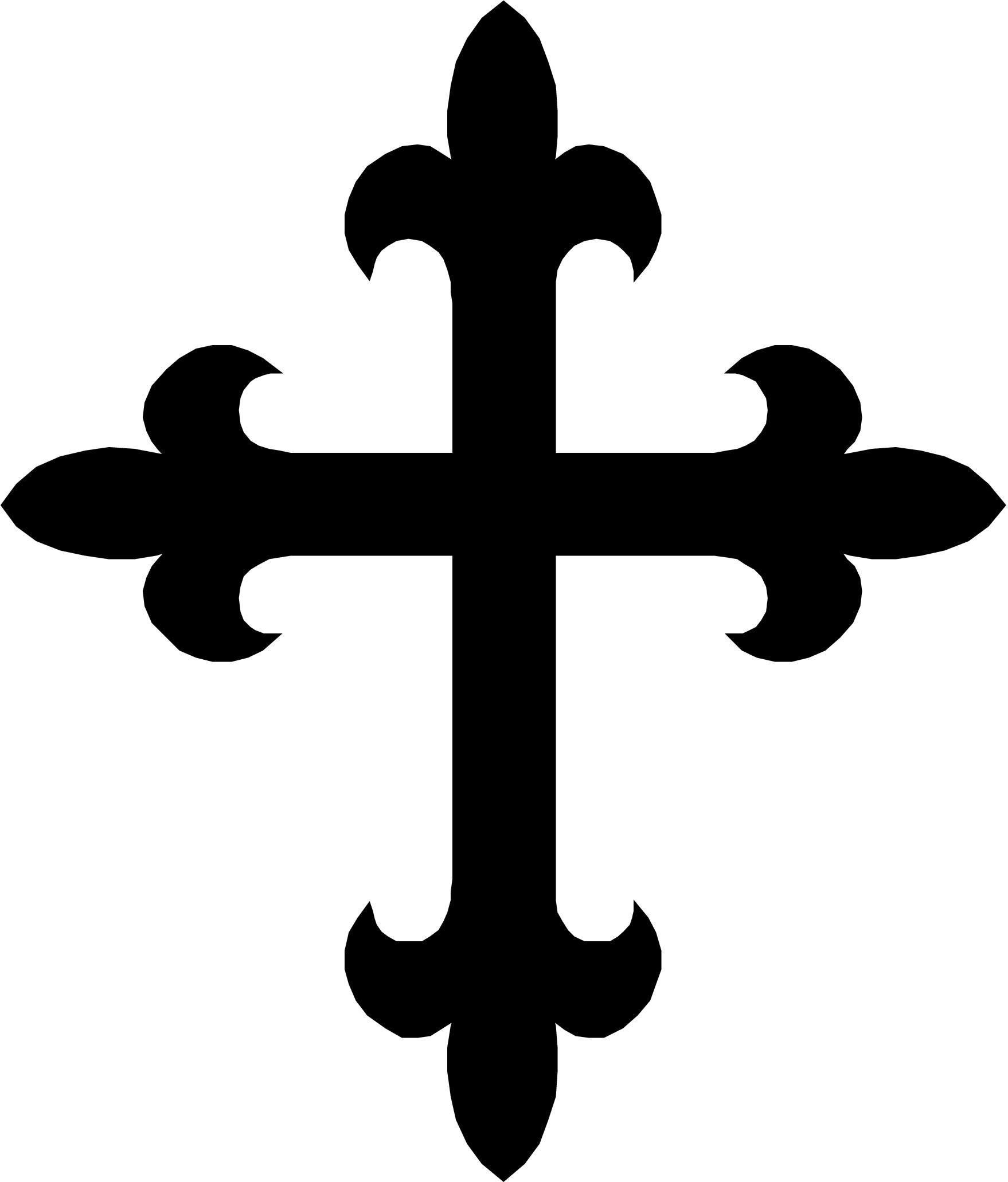 Pics of a cross clipart.