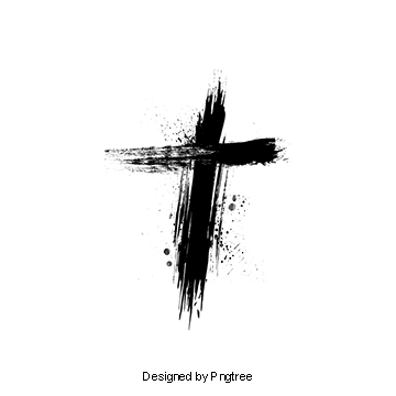 Ink Cross, Cross Clipart, Christ, Cross PNG Transparent.