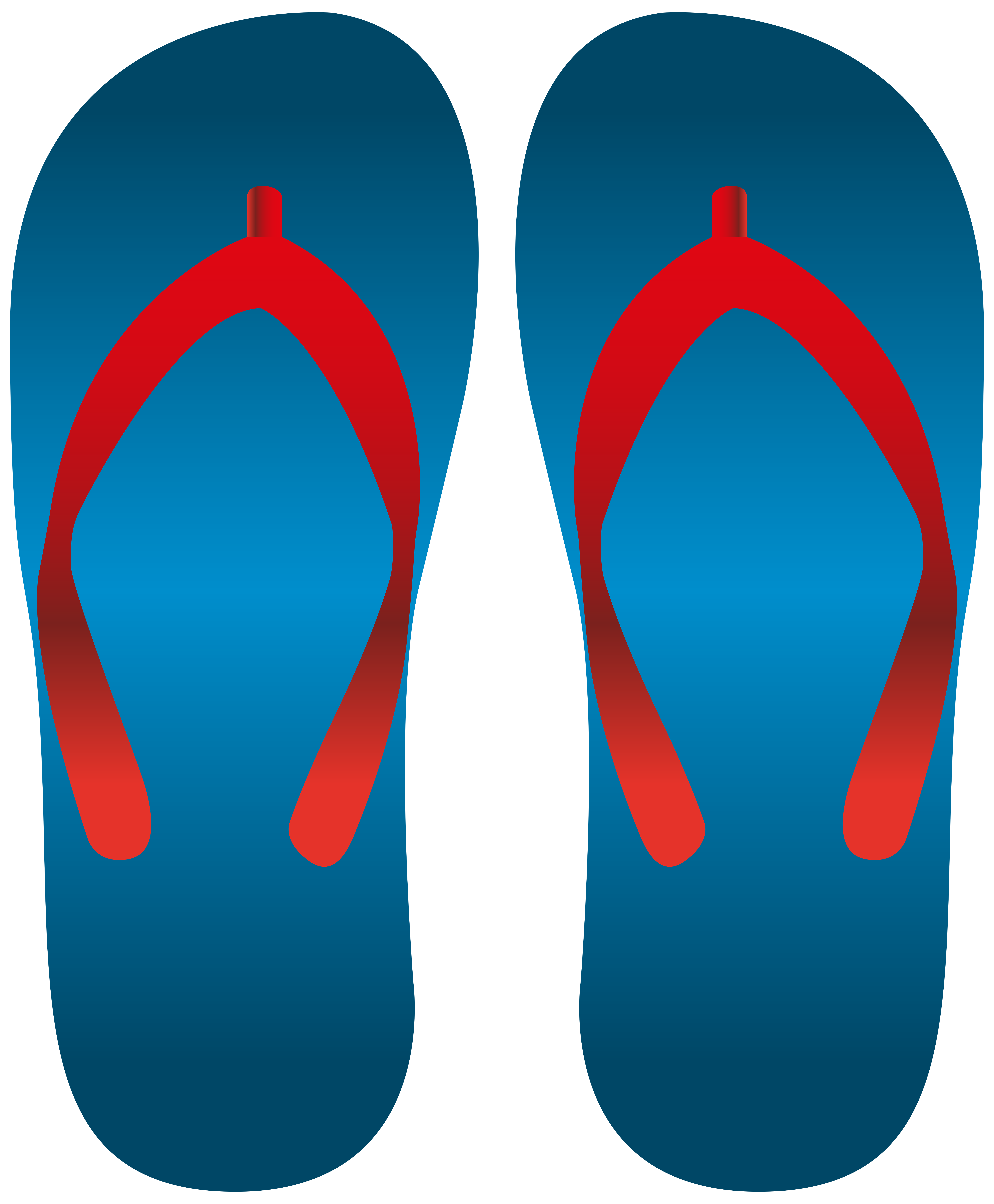 Download Free png Blue Flip Flops PNG Clip Art.