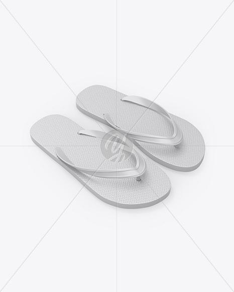 Flip Flops Mockup.