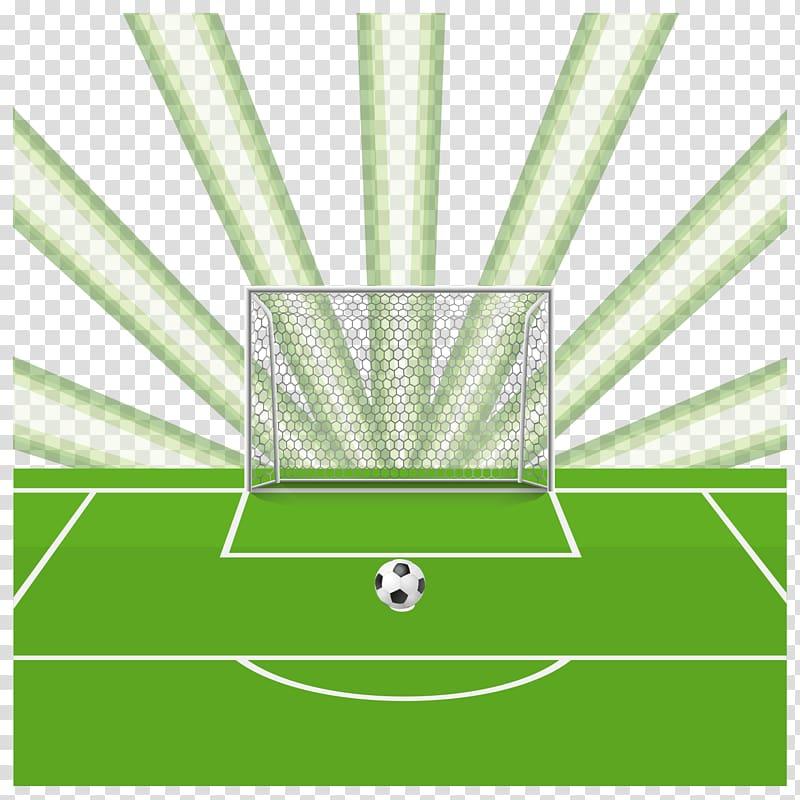 Football pitch Goal, Sports soccer field transparent.