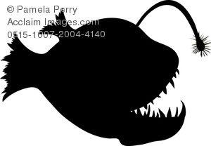 fish silhouette.