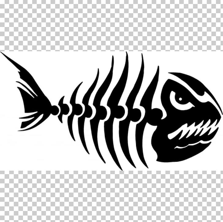 Decal Fish Bone Skeleton PNG, Clipart, Angler, Anglerfish.