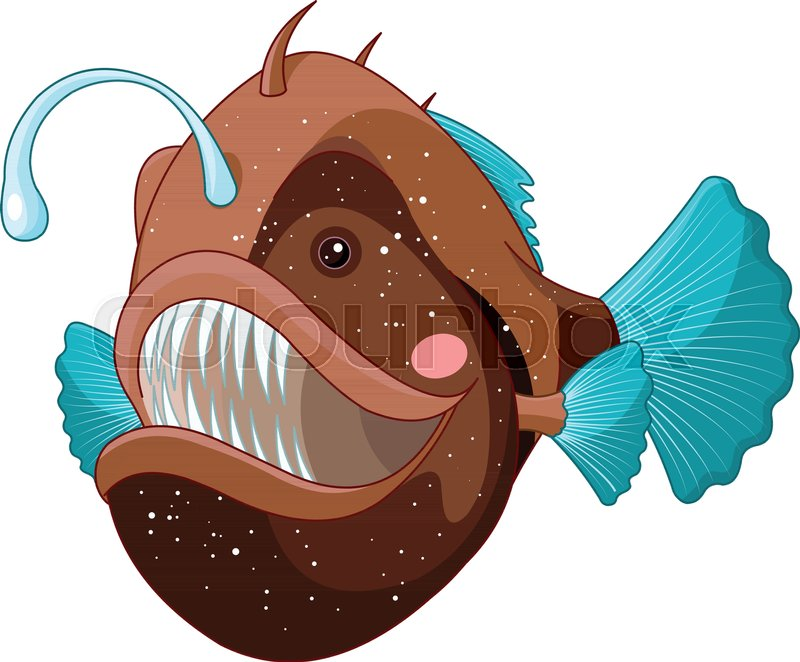 Angler fish clipart 8 » Clipart Station.