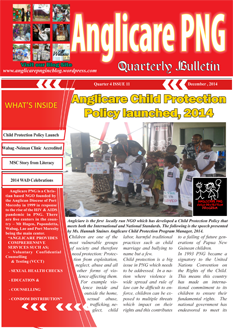Newsletters from ABM's PNG Partners · Papua New Guinea · Anglican.
