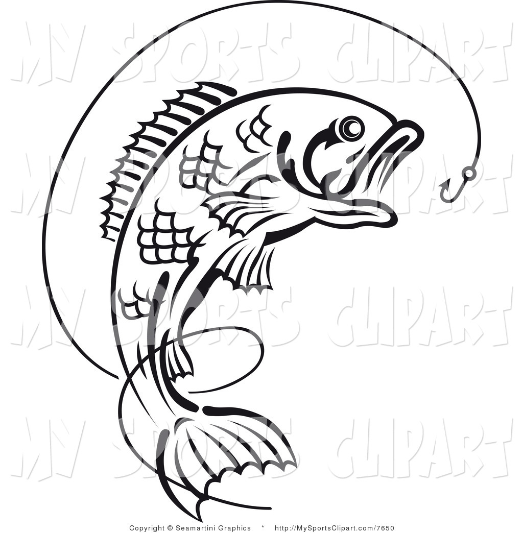 Jumping Fish Clipart.