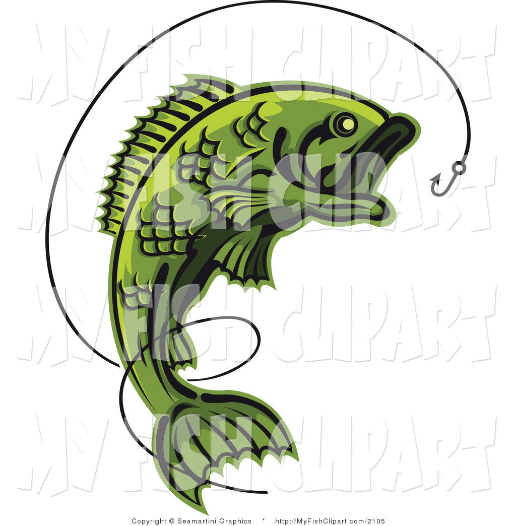 Royalty Free Angling Stock Fish Designs.