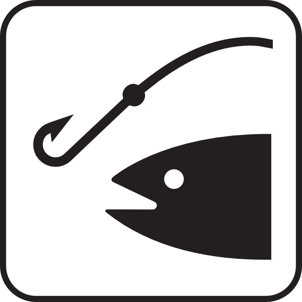 Fishing Clip Art Borders.