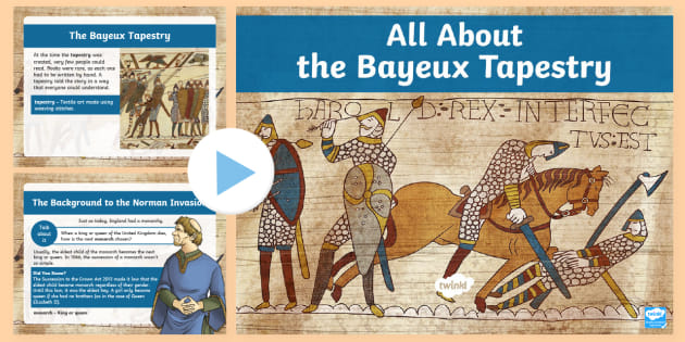 KS2 All About the Bayeux Tapestry Facts PowerPoint.