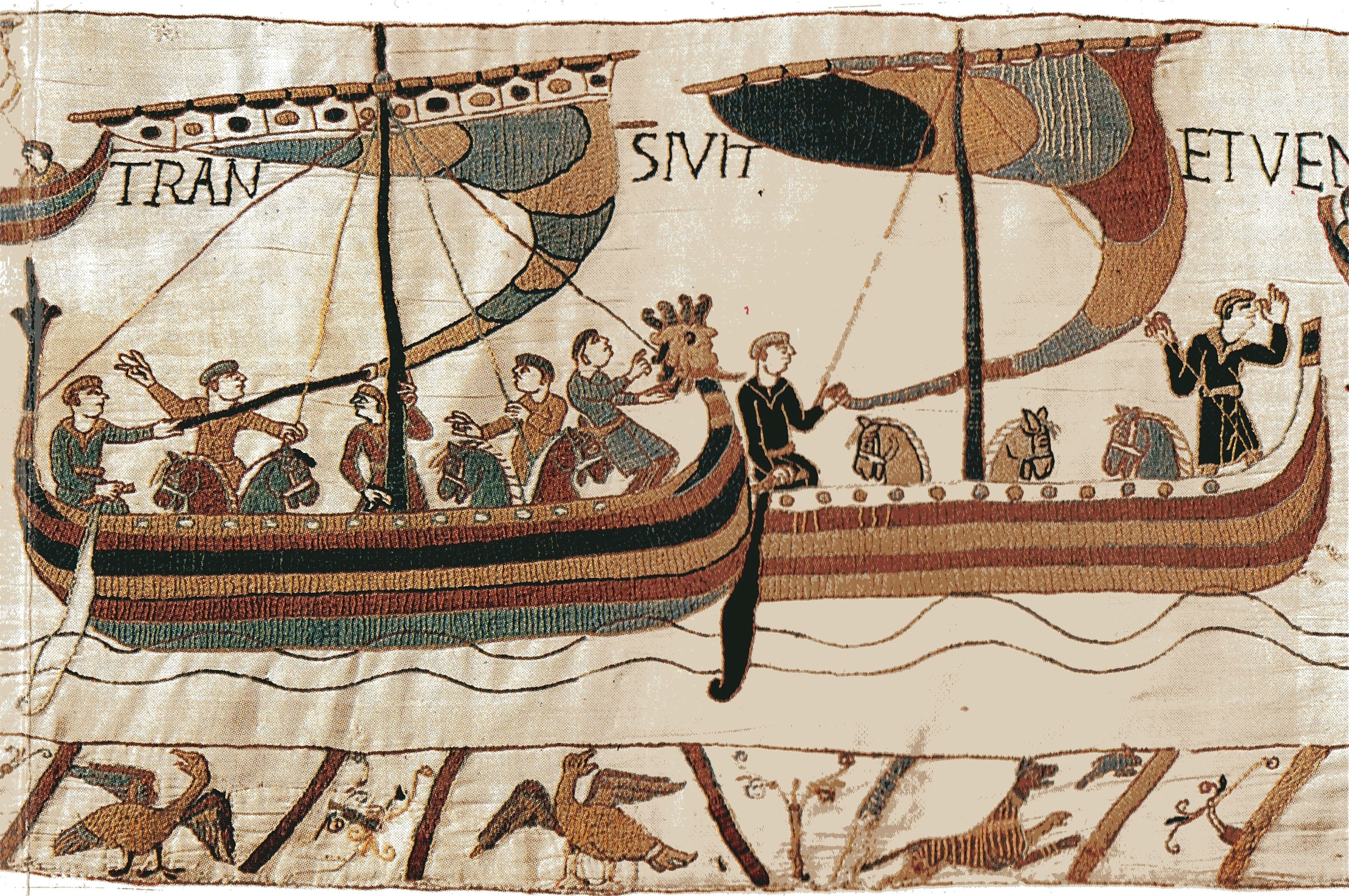 FROM THE HEART WITH GINI RIFKIN: The Bayeux Tapestry.