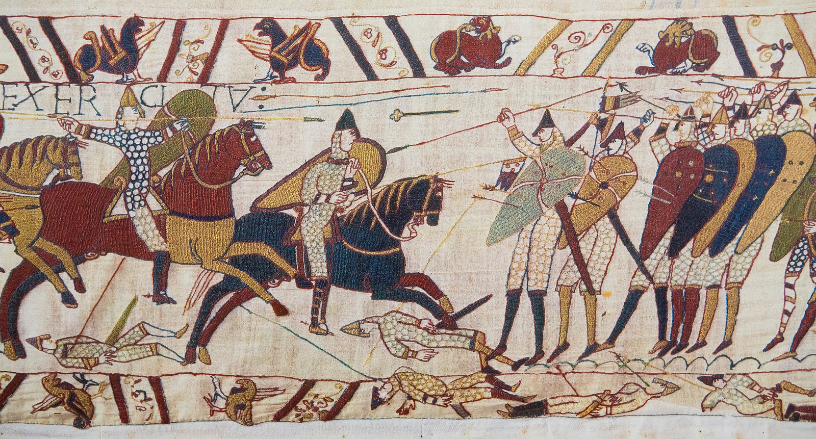 Battle of Hastings for children.